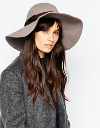 Christys' Kimberley Floppy Brim Hat With Liberty Lining Mink
