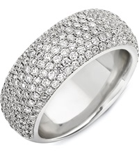 Theo Fennell 18Ct White Diamond Spangle Ring
