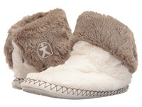 Bedroom Athletics Audrey Cream Moonrock Women's Slippers Beige