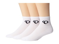 Pearl Izumi Attack Sock 3 Pack White Men's Crew Cut Socks Shoes