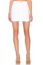 J Brand Leila Pencil Skirt White