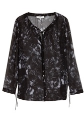 Iro Printed Silk Blouse