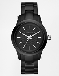 Karl Lagerfeld Slim Chain Black Watch Kl1221