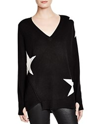Pam And Gela V Neck Star Sweater