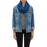 The Elder Statesman Women's Cashmere Neck Warmer Blue