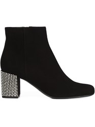 Saint Laurent 'Babies 90' Ankle Boots Black