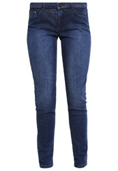 Naf Naf Guilda Slim Fit Jeans Stone Blue Denim