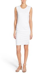 Women's James Perse Ruched Tank Dress White