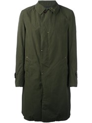 Kolor Single Breasted Coat Green
