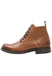 Wrangler Cliff Laceup Boots Nut Brown
