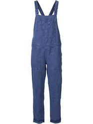 Obey Denim Overalls Blue