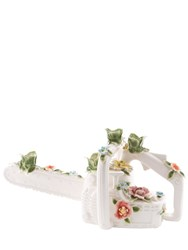 Seletti Flower Attitude Chainsaw Candle Holder
