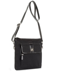 Giani Bernini Handbag Annabelle Signature Crossbody Bag Blk Blk