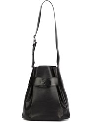 Louis Vuitton Vintage 'Sac De Paul' Bucket Shoulder Bag Black