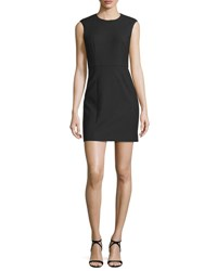 Elizabeth And James Mckay Sleeveless Open Back Mini Dress Black