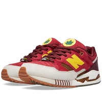 New Balance X Kith Nyc M530kh 'Central Park' Red And Yellow
