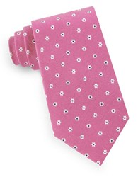 Lord And Taylor Floral Dot Tie Pink