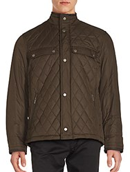 Rainforest Highneck Quilted Jacket Black