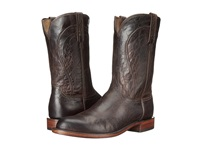Lucchese Perry Chocolate Cowboy Boots Brown