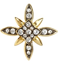 Annoushka Frost 14Ct Yellow Gold And Sapphire Stud Earring