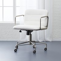Cb2 Mad Snakeskin Office Chair