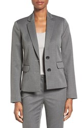 Ellen Tracy Women's Twill Two Button Jacket