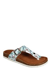 Refresh Leo Thong Sandal Blue