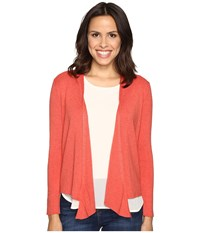 Nic Zoe 4 Way Cardy Spice Berry Women's Sweater Taupe