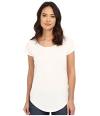 Alternative Apparel Cotton Modal Origin Tee White Women's T Shirt