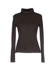 Armani Collezioni Turtlenecks Dark Brown
