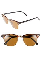 Women's Ray Ban 'Clubmaster' 51Mm Sunglasses Light Havana