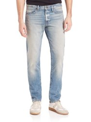 Frame Denim L'homme Straight Leg Slim Fit Jeans Bryce Canyon