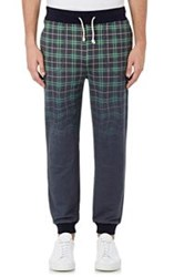 Band Of Outsiders Plaid Degrade French Terry Sweatpants Multi Size 0