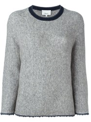 3.1 Phillip Lim Crew Neck Jumper Grey