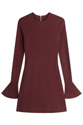 Mcq By Alexander Mcqueen Dress With Flared Cuffs Red