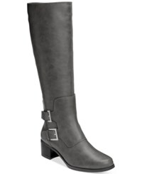 Aerosoles Ever After Tall Boots Women's Shoes Grey