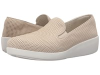 Fitflop Pop Skate Perf Urban White Women's Flat Shoes Pink