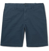 J.Crew Stanton Cotton Twill Chino Shorts Blue