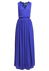 Naf Naf Maxi Dress Bleu Klein Blue