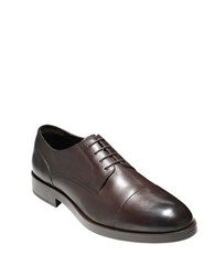 Cole Haan Henry Grand Cap Toe Oxfords Brown