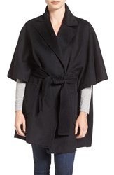 Diane Von Furstenberg Women's Belted Wool Blend Cape Coat