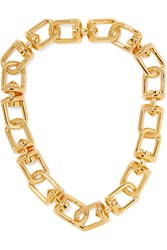 Eddie Borgo Fame Gold Plated Necklace