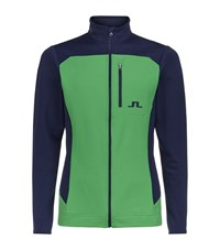 J. Lindeberg J.Lindeberg Mid Fieldsensor Zip Sweater Male Green