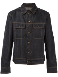 Rag And Bone Classic Denim Jacket Blue