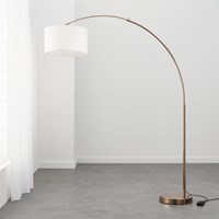 Cb2 Big Dipper Arc Brass Floor Lamp