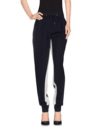 French Connection Trousers Casual Trousers Women Dark Blue