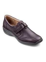 Hotter Francis Adjustable Loafers Plum