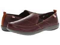 Spenco Siesta Leather Chocolate Men's Shoes Brown