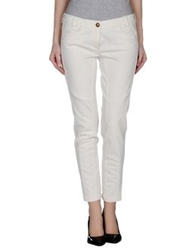 Coast Weber And Ahaus Denim Pants White
