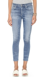 Citizens Of Humanity Rocket High Rise Crop Jeans Aura